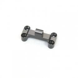 CNC Machined Aluminum HD Front Bumper Mount for EXO Buggy (Gun Metal)